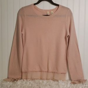 Moth Dusty Pink Sweater